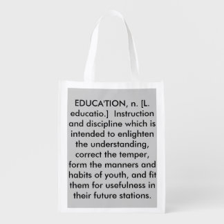 EDUCA'TION Reusable Bag