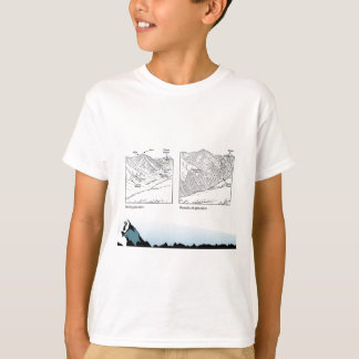 Education, science, Geography, Glaciers T-Shirt