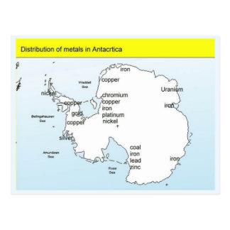 Education Science metals in Antarctica Post Card