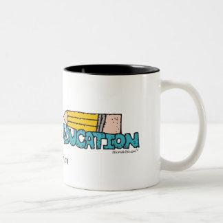 Education. Two-Tone Mug