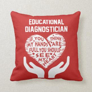 Educational Diagnostician Cushion