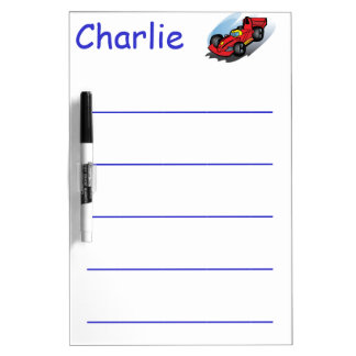 Educational Dry Erase Board Write Name Practice