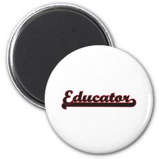 Educator Classic Job Design 6 Cm Round Magnet