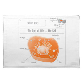 EduPaper Products The Cell Cloth Placemat