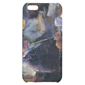 Edvard Munch - At the Coffee Table Painting Case For iPhone 5C