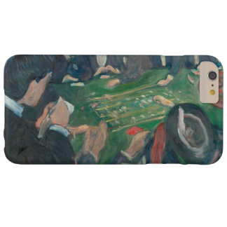 Edvard Munch -At the Roulette Table in Monte Carlo Barely There iPhone 6 Plus Case