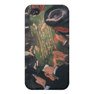 Edvard Munch - by the roulette Painting iPhone 4/4S Covers