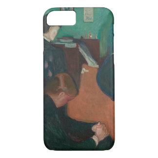 Edvard Munch - Death in the Sickroom iPhone 7 Case