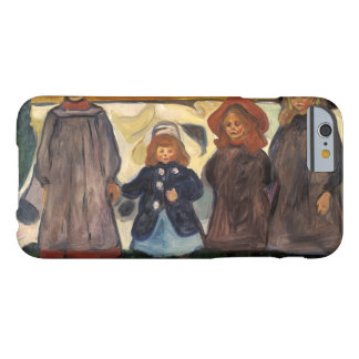 Edvard Munch - Four Girls in Asgardstrand Barely There iPhone 6 Case