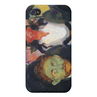 Edvard Munch - Jealousy Painting iPhone 4/4S Covers