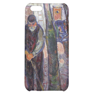 Edvard Munch - old man in warnemunde Painting Case For iPhone 5C