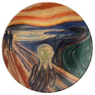 Edvard Munch's The Scream Porcelain Plates