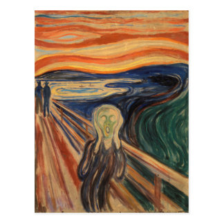 Edvard Munch's The Scream Postcard