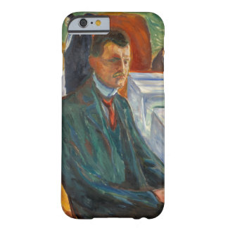 Edvard Munch - Self-Portrait with a Bottle of Wine Barely There iPhone 6 Case