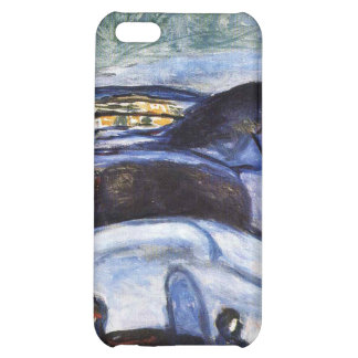 Edvard Munch - Starry Night Painting iPhone 5C Case