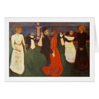 Edvard Munch - The Dance Of Life Card