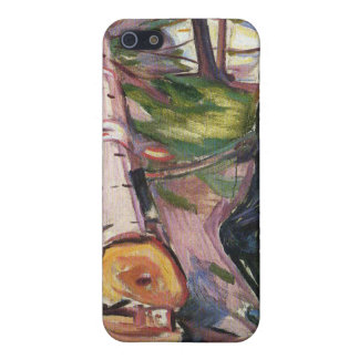Edvard Munch - The Lumberjack Painting Cover For iPhone 5/5S