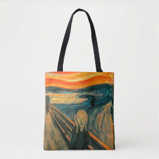 EDVARD MUNCH - The scream 1893 Tote Bag