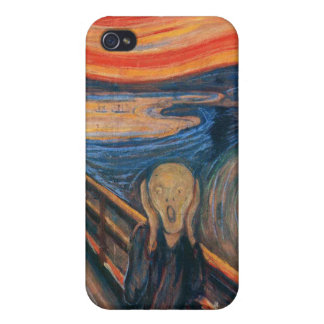 Edvard Munch - The Scream iPhone 4 Covers