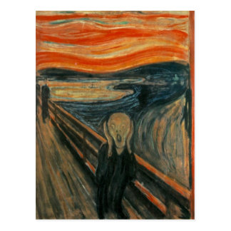 Edvard Munch - The Scream Postcard