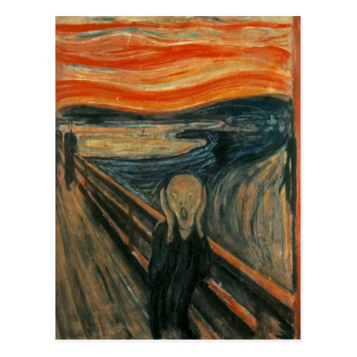 Edvard Munch - The Scream Postcards