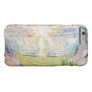 Edvard Munch - The Sun Barely There iPhone 6 Case