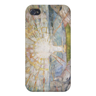 Edvard Munch - The Sun Painting Cases For iPhone 4