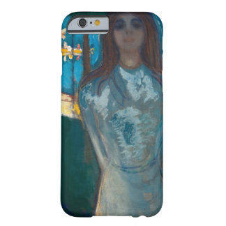 Edvard Munch - The Voice , Summer Night Barely There iPhone 6 Case