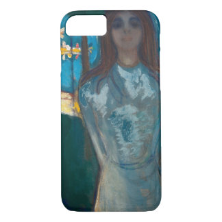 Edvard Munch - The Voice , Summer Night iPhone 7 Case