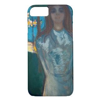 Edvard Munch - The Voice , Summer Night iPhone 7 Case