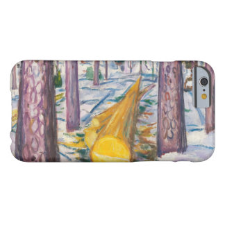 Edvard Munch - The Yellow Log Barely There iPhone 6 Case
