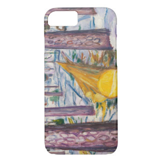 Edvard Munch - The Yellow Log iPhone 7 Case