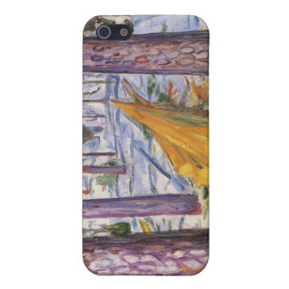 Edvard Munch - The Yellow Log Painting iPhone 5/5S Case