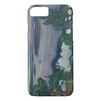 Edvard Munch - Train Smoke iPhone 7 Case