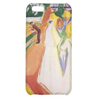 Edvard Munch - Women on Bridge Paintings iPhone 5C Case