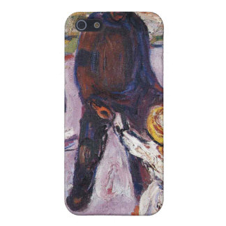 Edvard Munch - Worker And Child Painting iPhone 5 Cover