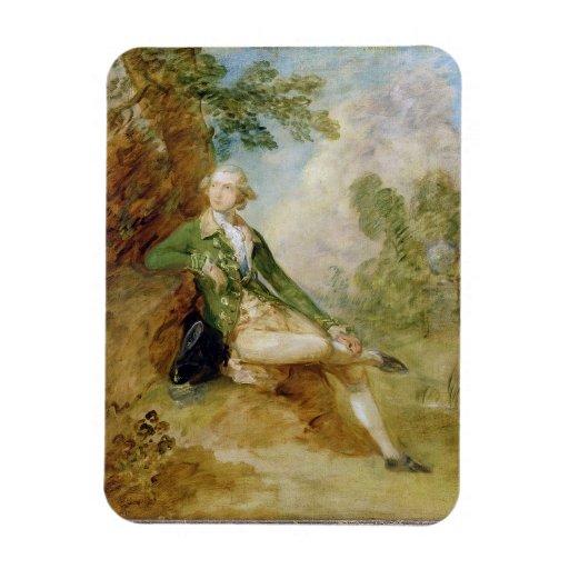 Edward Augustus, Duke of Kent, c.1787 (oil on canv Vinyl Magnet