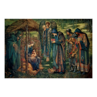 Edward Burne-Jones: Star of Bethlehem Poster