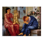 Edward Burne-Jones- The Lament Postcard