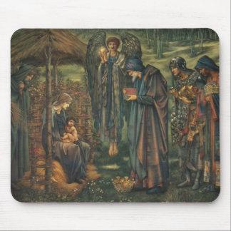 Edward Burne-Jones - The Star of Bethlehem Mouse Pad