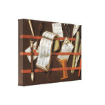 Edward Collier - Letter rack Stretched Canvas Print