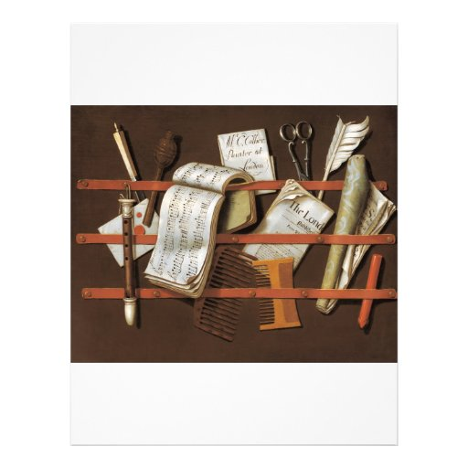 Edward Collier - Letter rack Flyer Design