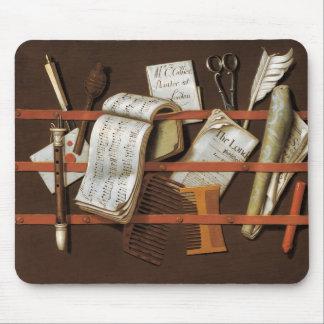 Edward Collier - Letter rack Mouse Pad