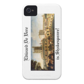 Edward De Vere is Shakespeare iPhone Case iPhone 4 Case-Mate Cases