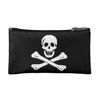 Edward England; Jolly Roger Flag Cosmetic Bag