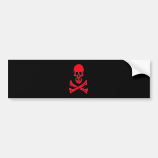 Edward England-Red Bumper Sticker