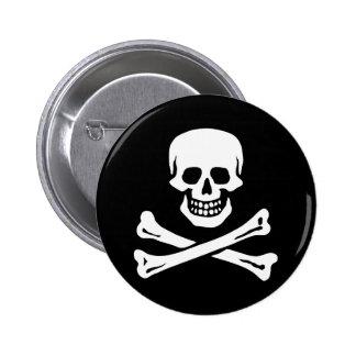 Edward England's Pirate 6 Cm Round Badge