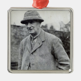 Edward Grey, 1st Viscount Grey of Fallodon Silver-Colored Square Decoration