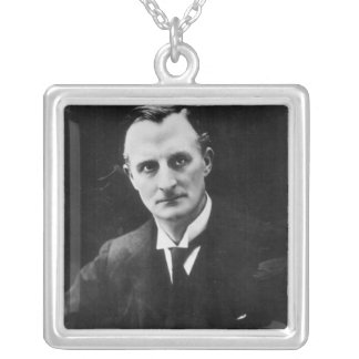 Edward Grey, 1st Viscount Grey of Fallodon Silver Plated Necklace