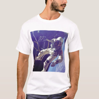 Edward H. White first American Space Walker NASA T-Shirt